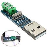 HiLetgo PCM2704 音声カード デコーダーモジュール DAC デコーダー for PC コンピューター 5V USB パワー