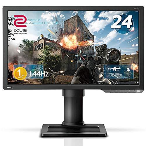 BenQ ゲーミングモニター ディスプレイ ZOWIE XL2411P 24インチ/フルHD/HDMI,DP,DVI端子/144Hz/1ms/ブルーライト軽減