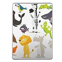 第2世代 第3世代 第4世代 iPad 共通 スキンシール apple アップル アイパッド A1395 A1396 A1397 A1416 A1430 A1403 A1458 A1459 A1460 タブレット tablet シール ステッカー ケース 保護シール 背面 人気 単品 おしゃれ 動物 キャラクター 009399