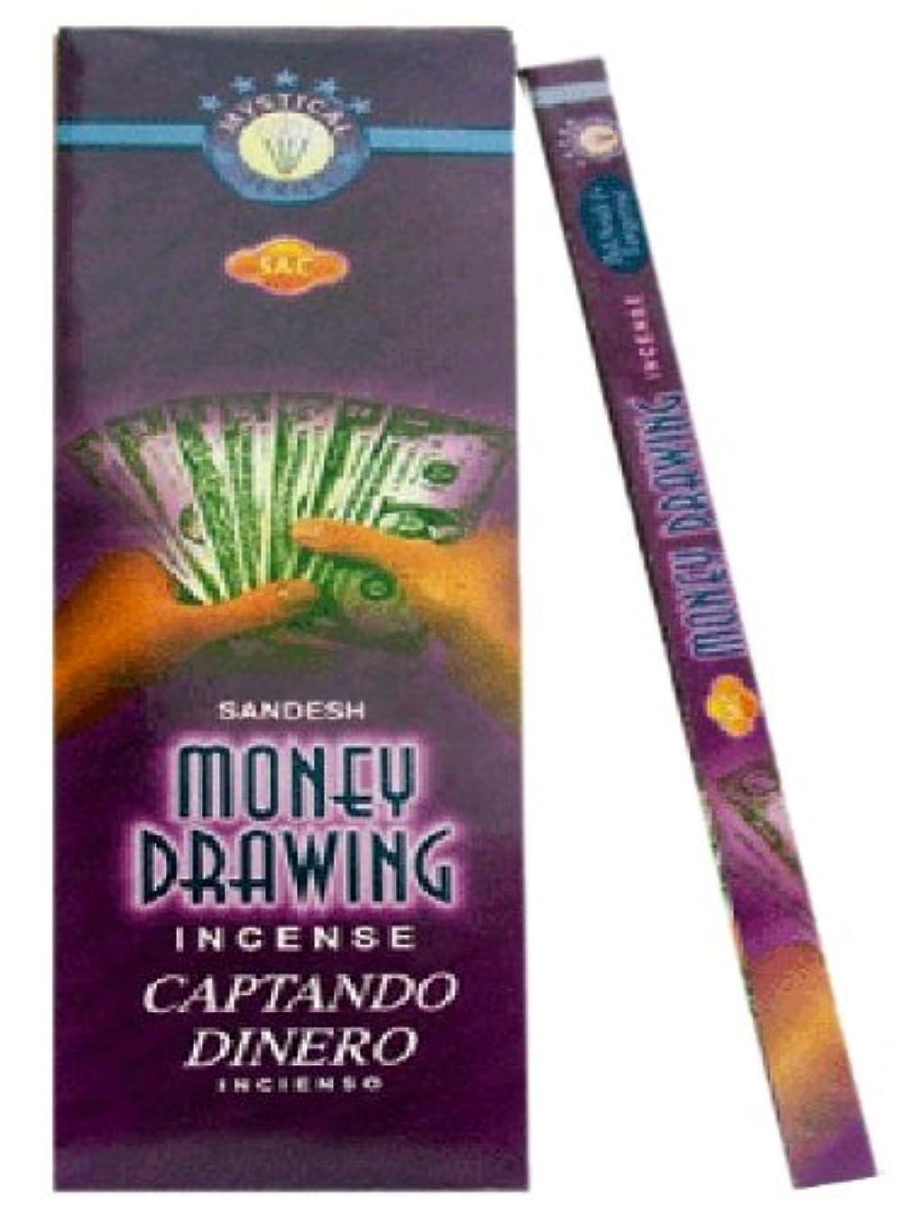 アーティストコードレス土砂降りJBJ Sac Money Drawing Incense Sticks