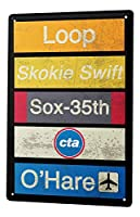 S-RONG雑貨屋 懐かしいサイン空港ティンサイン金属板装飾的なサイン家の装飾プラーク20 x 30 cm
