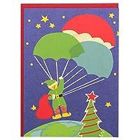 *ファウンド クリスマスカード 361 アウタースペースエルフ