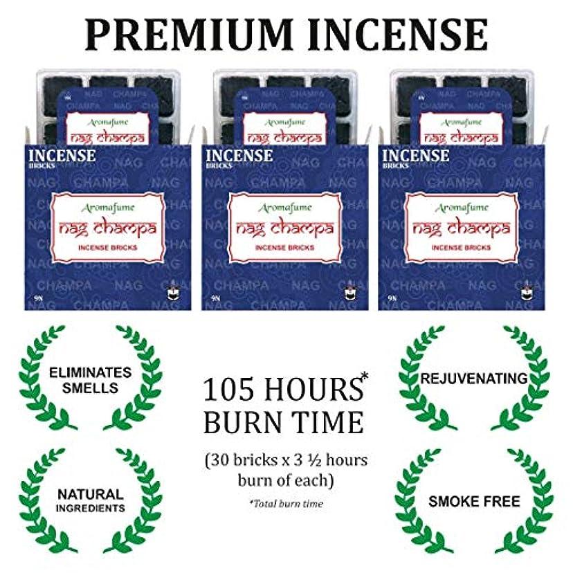 Aromafume ナグチャンパ線香 - トレイ3個セット