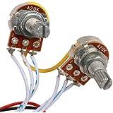 Fenteer 楽器部品 低音ピックアップ プリアンプ回路 ギター ベース用パーツ