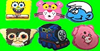 キーケース 鍵カバー キーキャップ スマーフ:ギズモ:スポンジボブ・ケアベア・トーマス・ピンクパンサー (ギズモ)