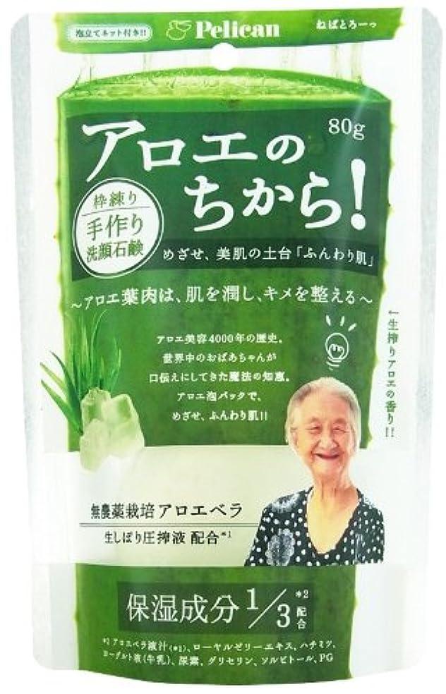織機ジムランドマークアロエの力洗顔石けん 80g