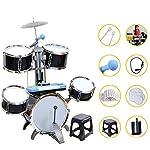 子供のドラムセット5セットのドラムパーカッション多機能ドラムセットパズル幼児教育玩具ドラムギフト