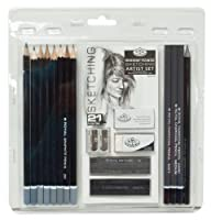 Royal & Langnickel RART-200 Essentials Sketching Pencil Set 21-Piece 【Creative Arts】 [並行輸入品]