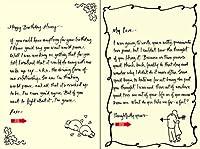 Quiplip手書きYours Truly誕生日カード、6パック(yt09146pck)