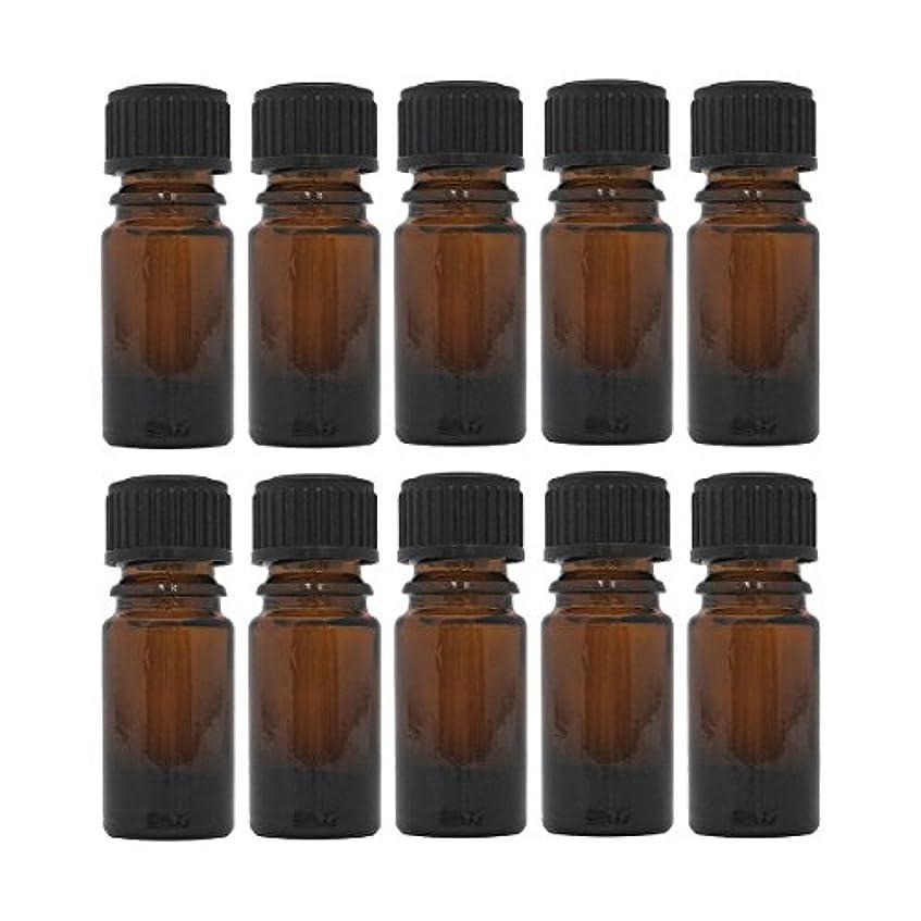 垂直アウトドアベーリング海峡茶色遮光瓶 5ml (ドロッパー付) 10本セット