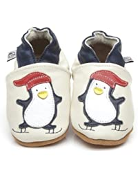 Soft Leather Baby Shoes Penguin [ソフトレザーベビーシューズのペンギン] 18-24 months (15 cm)