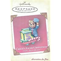 Hallmark Keepsake Ornament - Child's Fifth Christmas 2004 (QXG5774) by Hallmark