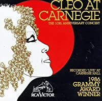 Cleo at Carnegie Hall: 10th Anniversary by Cleo Laine (1993-09-14)