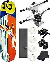 "Expedition OneスケートボードTradewindsスケートボード7.9"" X 32"" Complete Skateboard–7項目のバンドル"