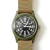 (ミリタリーウォッチカンパニー)MWC ベトナム戦争モデル/ナイロンストラップ ミッションウォッチ・w-113qtz(one)(olive)