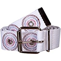 Sunny Belt Women's 1 1/2 Wide Trendy Military Canvas Web Belt with Eyelets