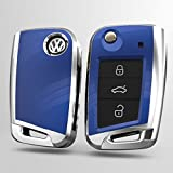 [NextBlue] フォルクスワーゲン VW 専用 キー ケース カバー (ブルー) (¥ 3,980)