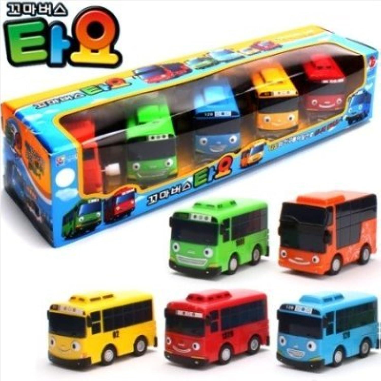 Little Bus TAYO Toy 5 pcs (Tayo + Rogi + Gani + Rani + Citu)