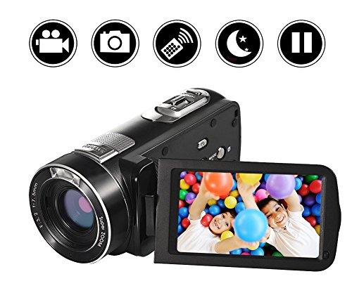 ビデオカメラデジタルカメラYISENCE HD18X デジタ...