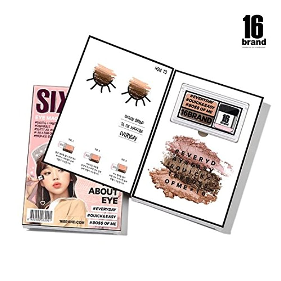 リスナー出発クラックポット16brand Sixteen Eye Magazine Everyday 2g/16ブランド シックスティーン アイ マガジン エブリデイ 2g [並行輸入品]