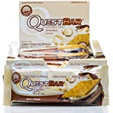 Quest Nutrition S'mores Protein Bar, 12 pack x 60g