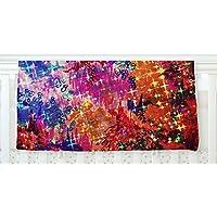 KESS InHouse Ebi Emporium Sky Risers Glam Pink Fleece Baby Blanket 40 x 30 [並行輸入品]