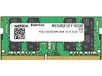 Mushkin Essentialsシリーズ–ddr4Dram–16GBメモリ2rx8SingleモジュールSODIMM–2133MHz (pc4–17000) cl-15–260-pin 1.2VラップトップノートブックRam–低電圧–mes4s213ff16g28