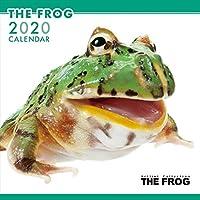 THEFROG カエル カレンダー 2020年カレンダー グッズ 蛙 かえる 動物 小動物 アニマル 壁掛け