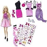 Barbie バービー デコってキュート!ファッションセット(CDM12)