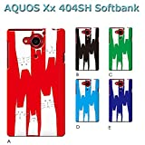 AQUOS Xx 404SH (ねこ08) C [C021401_03] 猫 にゃんこ ネコ ねこ柄 家族 アクオス スマホ ケース softbank