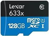 Lexar High-Performance 633x microSDXC UHS-Iカード 128GB (転送速度 95MB/s、SDアダプタ付) [並行輸入品]