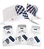 メンズ ウーノ 長袖ワイシャツ3枚セット 洗っても縮みにくい 形態安定加工 ua 002-M