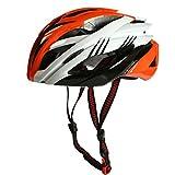 [AMANGU] 自転車ヘルメット 大人用 サイクリング 高剛性 快適 超軽量 ベンチレーション 調節可能 クロスバイク マウンテンバイク スケート ボード 通学 通勤 スポーツ アウトドア