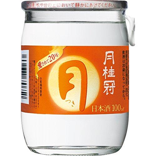 月桂冠 つきカップミニ [ 日本酒 京都府 100ml×30本 ]