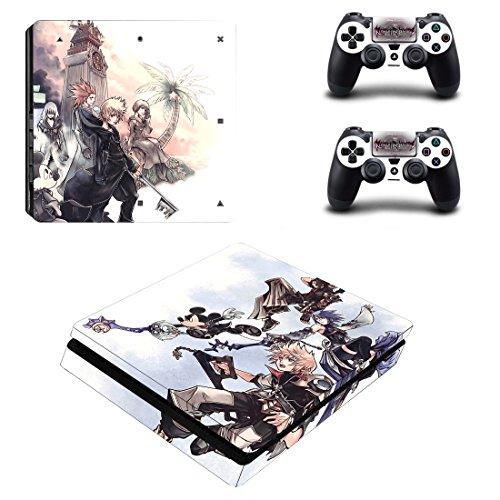 PS4 スリム slim スキンシール キングダムハーツ 本...