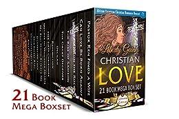 Christian Love 21 Book Mega Box Set Celebration Edition: African American Christian Romance Boxset by [Gaines, Liberty]