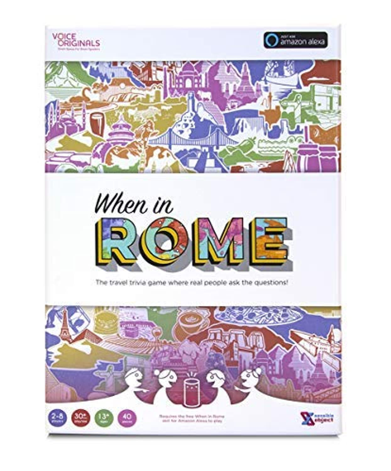 Voice Originals - When in Rome Travel Trivia Game Powered by Alexa [並行輸入品]