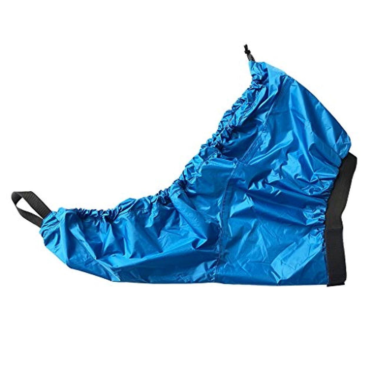 分散散歩下手Perfeclan 防水性 ユニバーサル 調整可能 カヤック コックピット スプレー スカート デッキカバー - サイズと色を選択 全3色4サイズ - 青, S