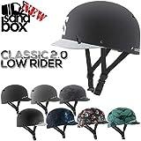 SANDBOX/サンドボックスヘルメット CLASSIC 2.0 LOW RIDER クラシック ローライダー ツバ付き ウェイク スノーボード スケート スキー メンズ レディース キッズ プロテク