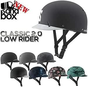 SANDBOX/サンドボックスヘルメット CLASSIC 2.0 LOW RIDER クラシック ウェイク スノーボード スケート スキー メンズ レディース キッズ 男女兼用 17-18 プロテクター