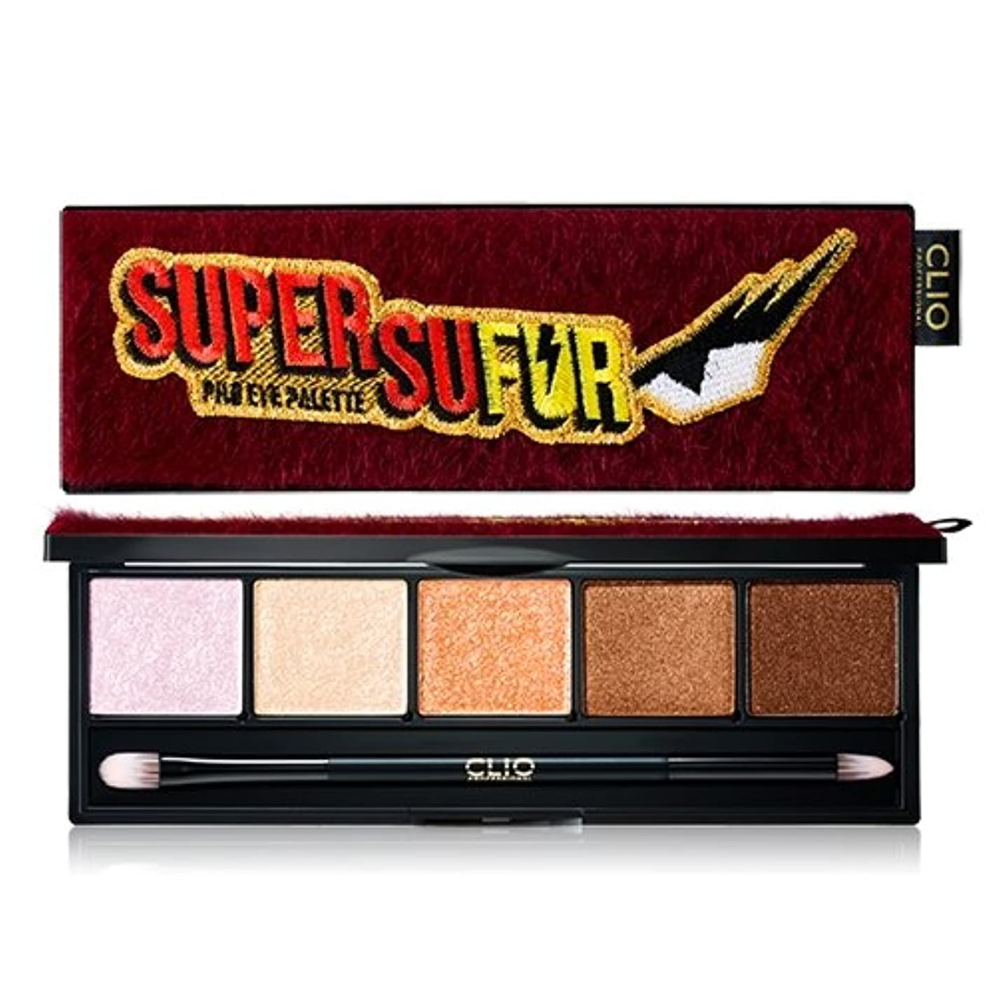 混沌水を飲む東ティモールCLIO Super Sufur Pro Layering Eye Palette 01.SUPER SUFUR [Limited Edition]/ クリオ スーパースーパープロレイヤ アイパレット [並行輸入品]