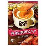 ポッカサッポロ じっくりコトコトスープ 海老の贅沢ビスク 3袋入×5箱