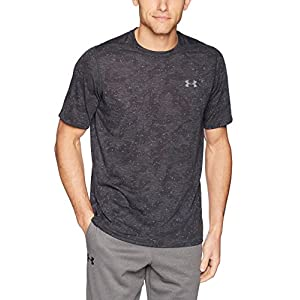 (アンダーアーマー) UNDER ARMOUR UA THREADBORNE PRINTED SS 1310291 001 BLK/GPH MD
