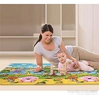 Serra Baby comflor Pingko and Friendsゲームマット210 x 140 cm、厚さ13 mm