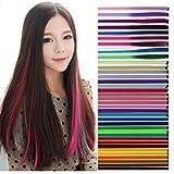 BLUCE&GRACE 全36色 カラーエクステ グラデーションカラー ウィッグ ワンタッチ 取り付け簡単 つけ毛