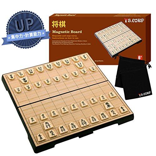 [해외][TS.CORP] 장기 세트 마그네틱 접이식 소형화물 일본어 설명서 부 입문 초보자 적용 장기판과 말의 장기 세트/[TS.CORP] Shogi set Magnet folding compact storage Japanese entry explanation with introductory beginner Applicable shogi board ...