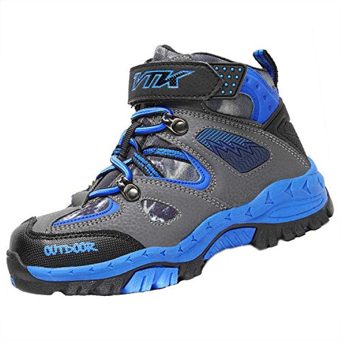 暴君発音する逆説流行の子供靴 暖かく保つ ブーツ キッズ 快適で トレッキングシューズ 滑り止め ジュニアシューズ ASHION 耐久性のある 登山靴 ファッション キッズ 雪靴防水プラットフォーム