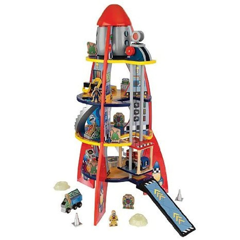 KidKraft Childrens Fun Rocket Ship Toy プレイセット(並行輸入)