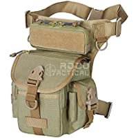 ROCOTACTICAL Military Tactical Drop Leg Bag Motorcycle Thermite Versipack Tool Fanny Thigh Utility Pouch Bag