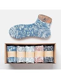 メンズソックスボートソックス春と秋のコットン吸汗汗消臭靴下